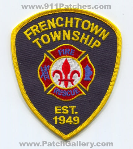 Frenchtown Township Fire Rescue Department Patch Michigan MI