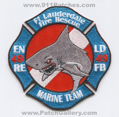 Fort Lauderdale Fire Rescue Department Station 49 Patch Florida FL v2