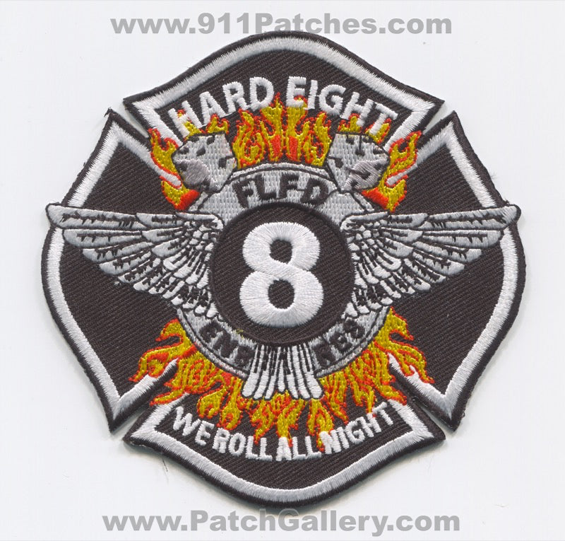 Fort Lauderdale Fire Rescue Department Station 8 Patch Florida FL
