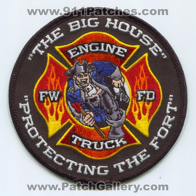 Fort Wayne Fire Department Station 1 Patch Indiana IN