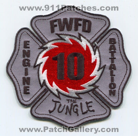 Fort Wayne Fire Department Station 10 Patch Indiana IN
