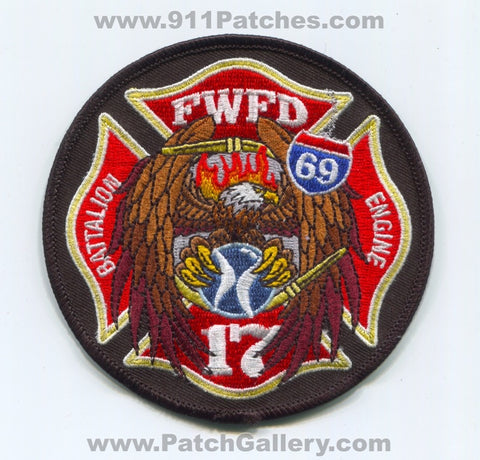 Fort Wayne Fire Department Station 17 Patch Indiana IN