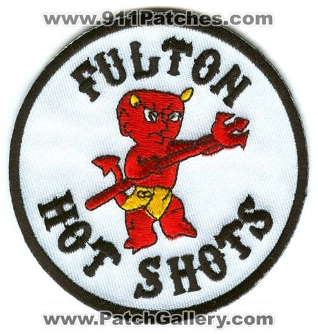 Fulton HotShots Forest Fire Wildfire Wildland Patch California CA