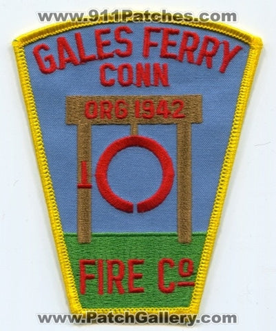 Gales Ferry Fire Company Patch Connecticut CT