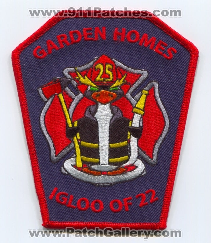 Garden Homes Fire Department Station 25 Patch Illinois IL