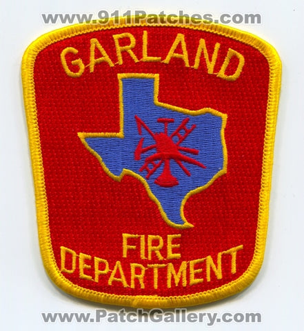 Garland Fire Department Patch Texas TX