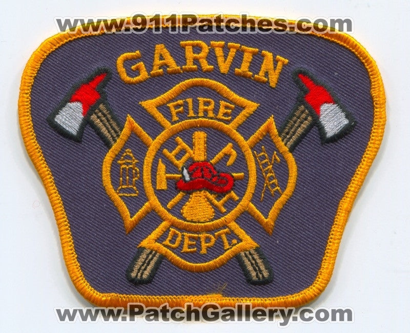 Garvin Fire Department Patch Unknown State