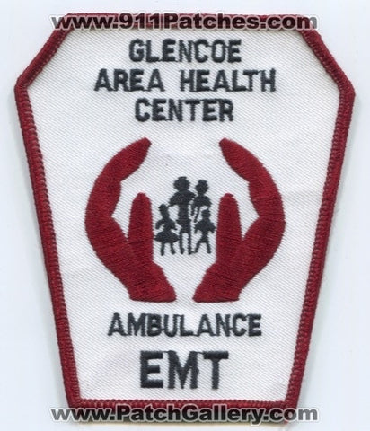 Glencoe Area Health Center Ambulance EMT EMS Patch Alabama AL