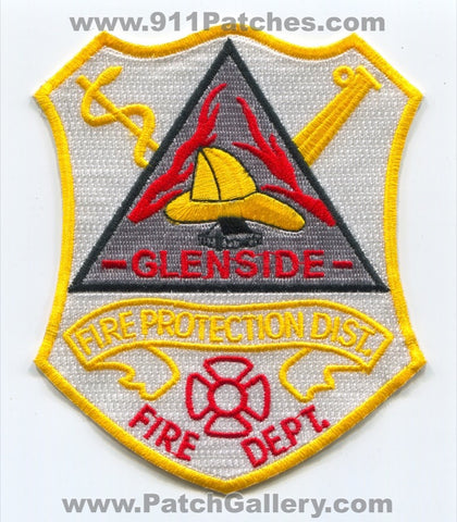 Glenside Fire Department Protection District Patch Illinois IL