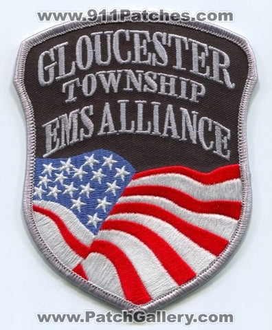 Gloucester Township EMS Alliance Patch New Jersey NJ