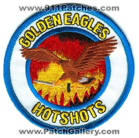Golden Eagles HotShots Forest Fire Wildfire Wildland Patch California CA