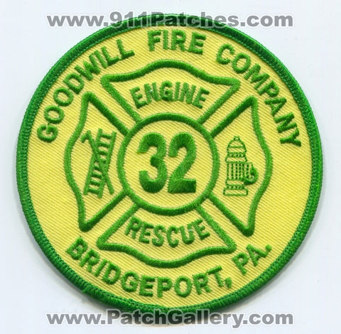 Goodwill Fire Company 32 Bridgeport Patch Pennsylvania PA