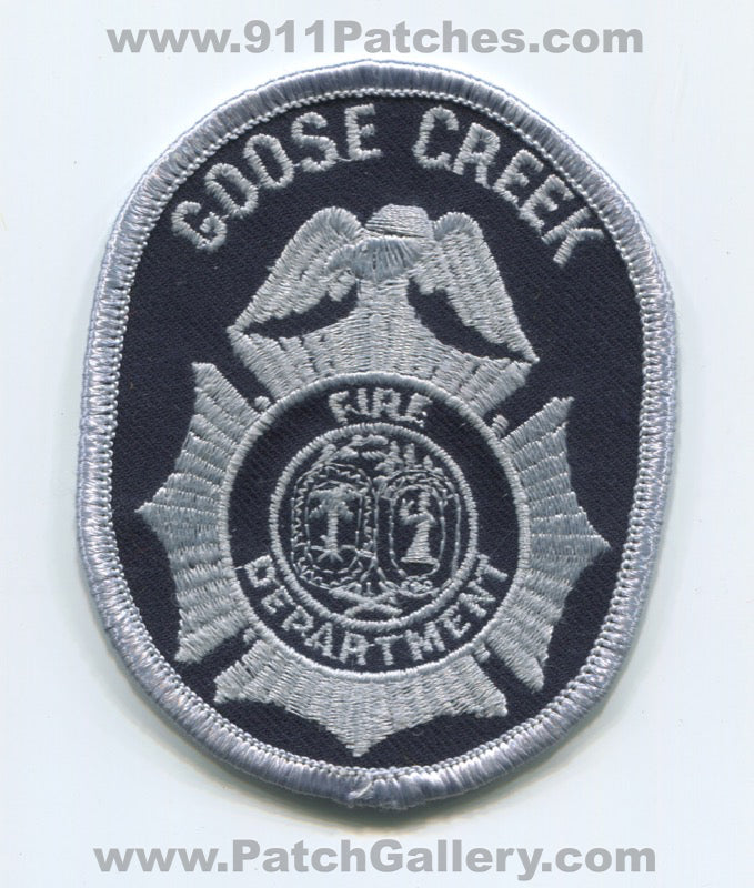 Goose Creek Fire Department Patch South Carolina SC