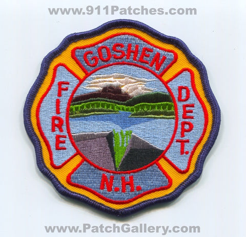Goshen Fire Department Patch New Hampshire NH