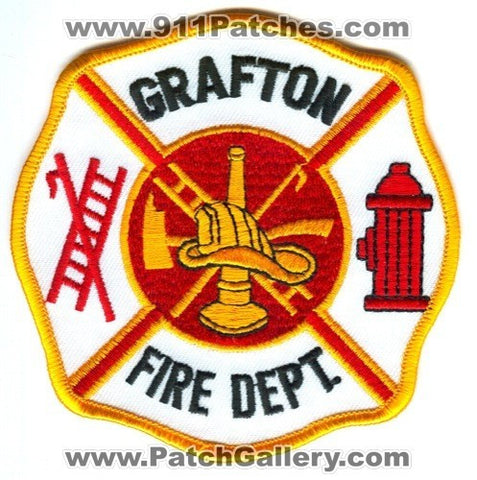 Grafton Fire Department Patch Unknown State