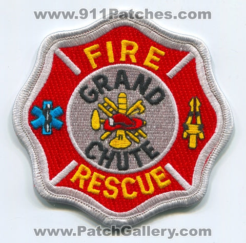 Grand Chute Fire Rescue Department Patch Wisconsin WI