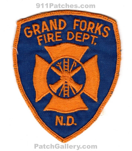 Grand Forks Fire Department Patch North Dakota ND