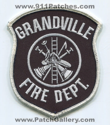 Grandville Fire Department Patch Michigan MI