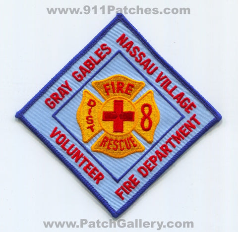 Gray Gables Nassau Village Volunteer Fire Rescue Department District 8 Patch Florida FL