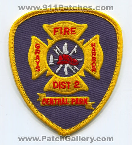 Grays Harbor County Fire District 2 Central Park Patch Washington WA