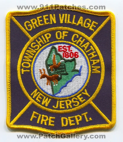 Green Village Fire Department Township of Chatham Patch New Jersey NJ
