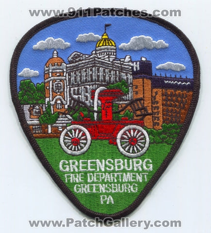 Greensburg Fire Department Patch Pennsylvania PA