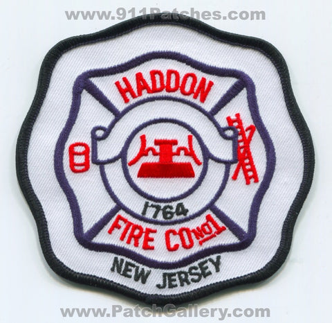 Haddon Fire Company Number 1 Patch New Jersey NJ