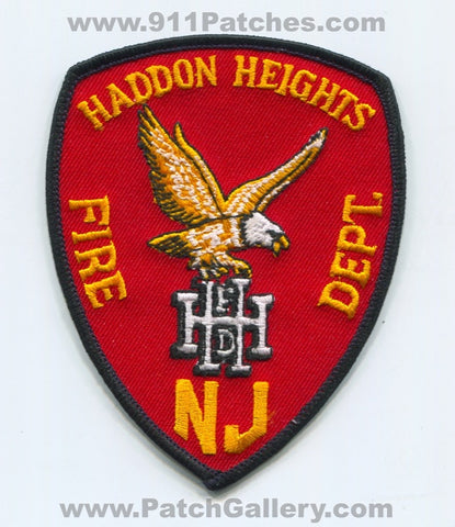 Haddon Heights Fire Department Patch New Jersey NJ