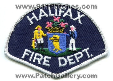Canada NS - Halifax Fire Department Patch