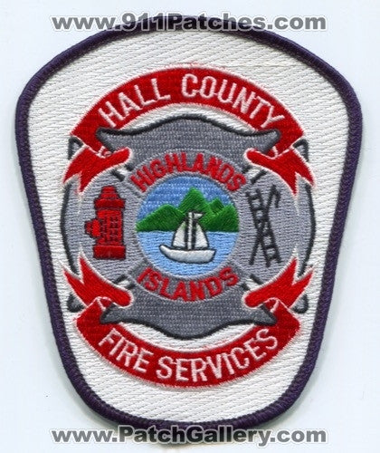 Hall County Fire Services Department Highlands Islands Patch Georgia GA