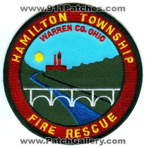 Hamilton Township Fire Rescue Department Warren County Patch Ohio OH