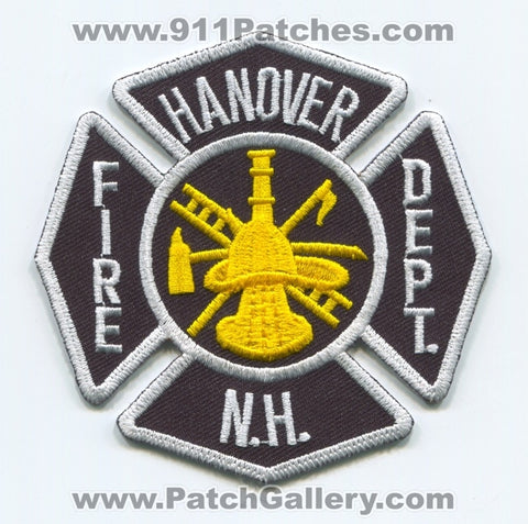 Hanover Fire Department Patch New Hampshire NH
