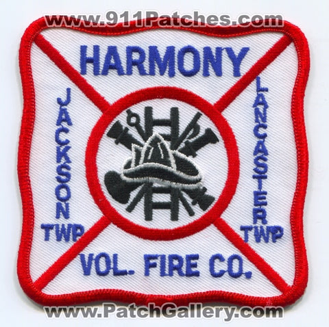 Harmony Volunteer Fire Company Patch Pennsylvania PA