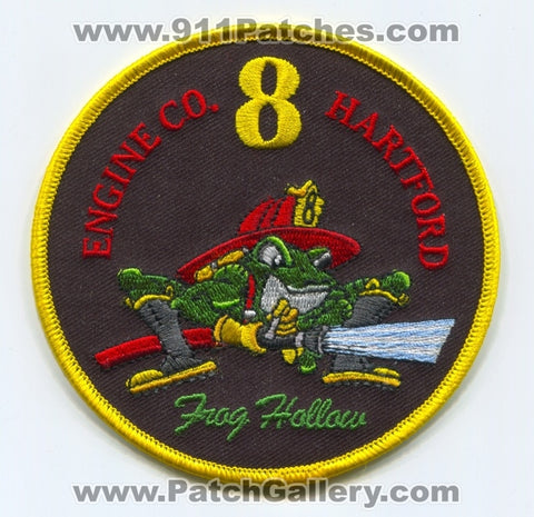 Hartford Fire Department Engine Company 8 Patch Connecticut CT