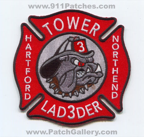 Hartford Fire Department Tower Ladder 3 Patch Connecticut CT