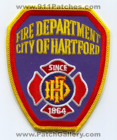 Hartford Fire Department Patch Connecticut CT