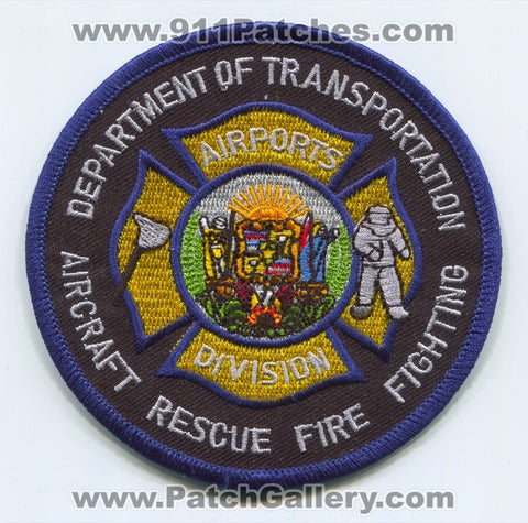 Hawaii Department of Transportation Airports Division Aircraft Rescue Firefighting ARFF Patch Hawaii HI