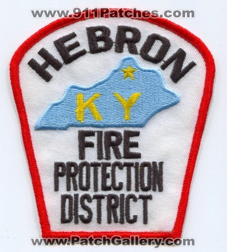 Hebron Fire Protection District Patch Kentucky KY
