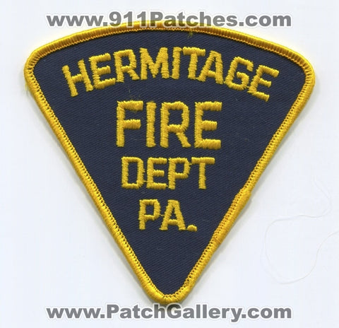 Hermitage Fire Department Patch Pennsylvania PA