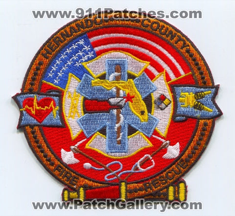 Hernando County Fire Rescue Department Patch Florida FL
