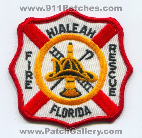 Hialeah Fire Rescue Department Patch Florida FL