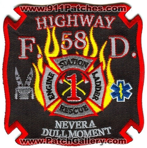 Highway 58 Fire Department Station 1 Patch Tennessee TN
