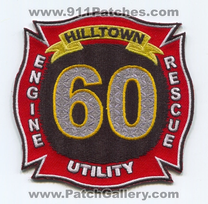 Hilltown Fire Department Station 60 Patch Pennsylvania PA