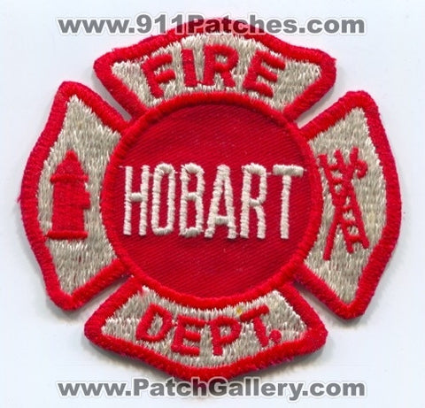 Hobart Fire Department Patch Unknown State