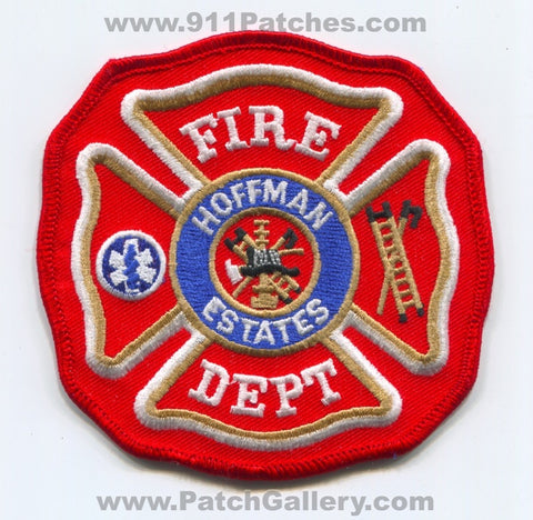 Hoffman Estates Fire Department Patch Illinois IL v1
