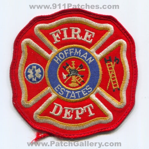 Hoffman Estates Fire Department Patch Illinois IL