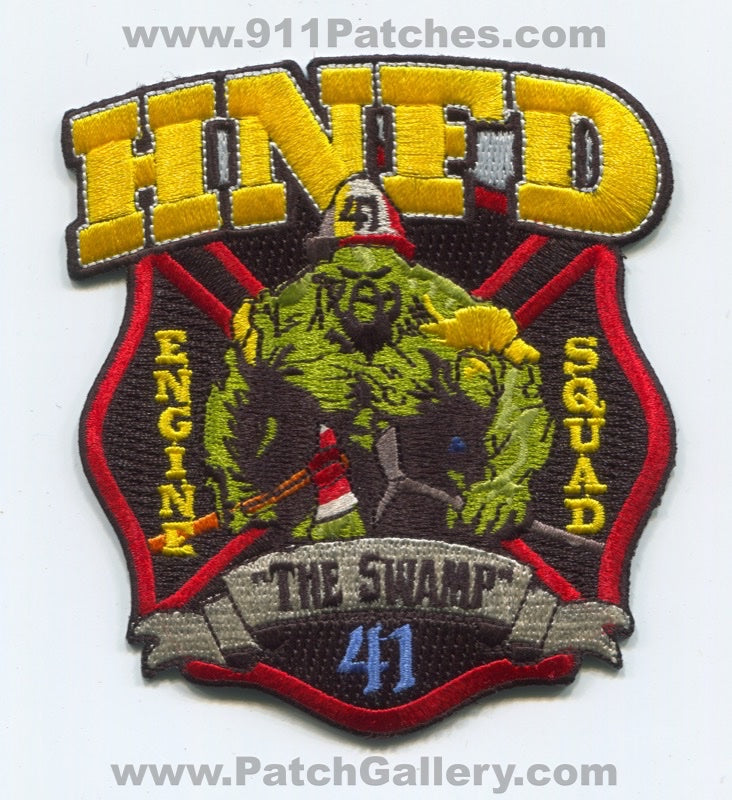 Holley Navarre Fire District Station 41 Patch Florida FL