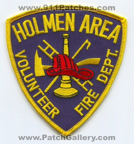 Holmen Area Volunteer Fire Department Patch Wisconsin WI
