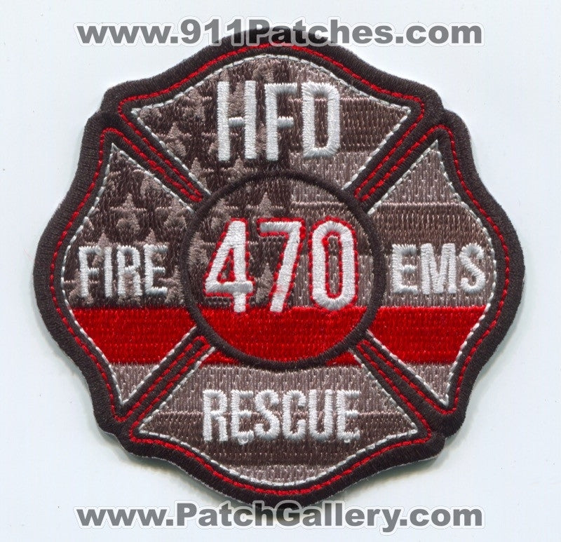 Homer Fire Department Patch Ohio OH