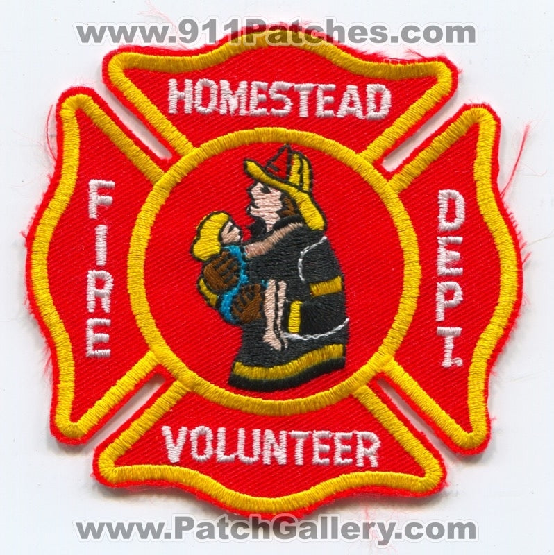 Homestead Volunteer Fire Department Patch Pennsylvania PA